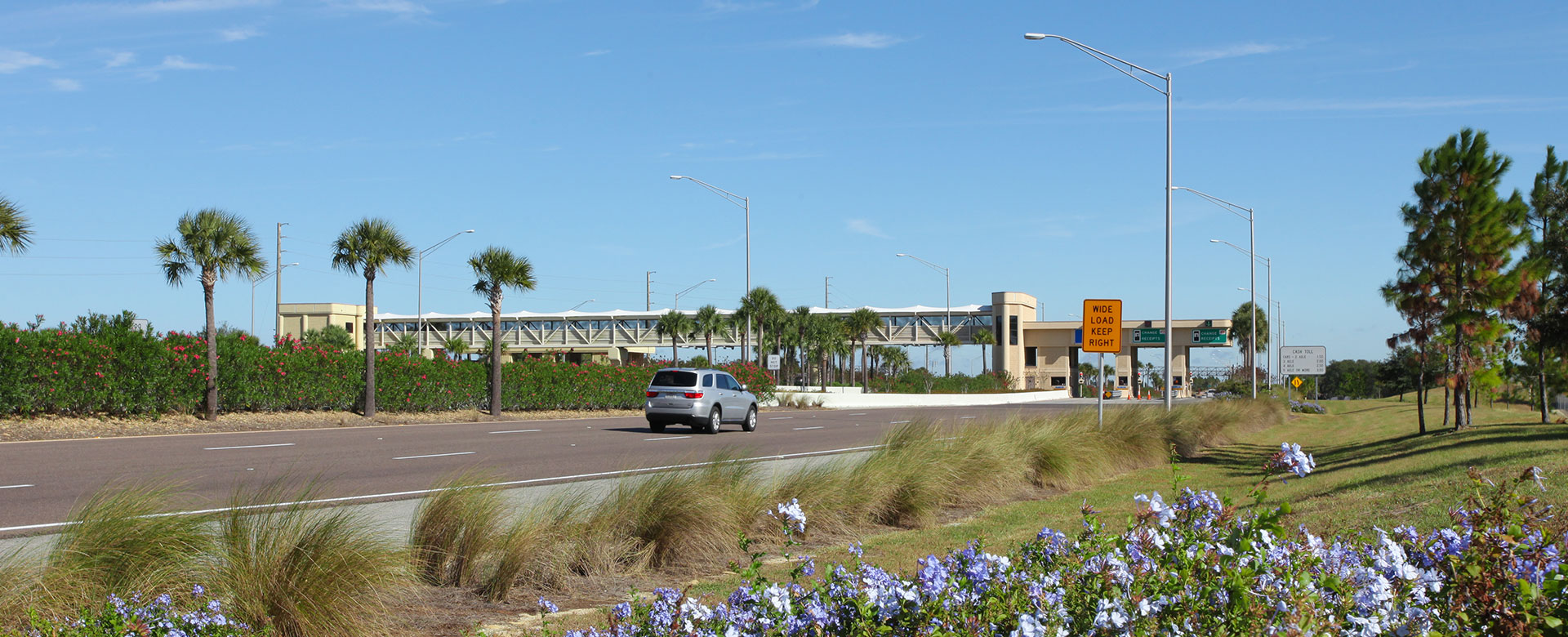 Central Florida Expressway toll road 429 toll plaza