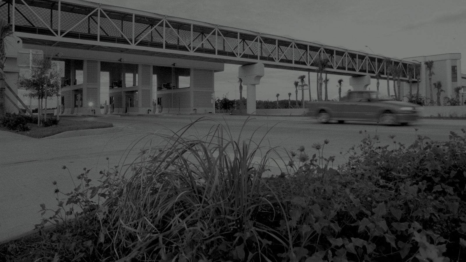 Central Florida Expressway toll plaza