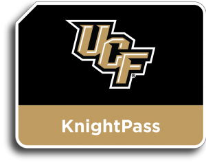 University of Central Florida KnightPass E-PASS sticker