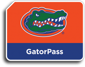 University of South Florida Gator Pass E-PASS Sticker