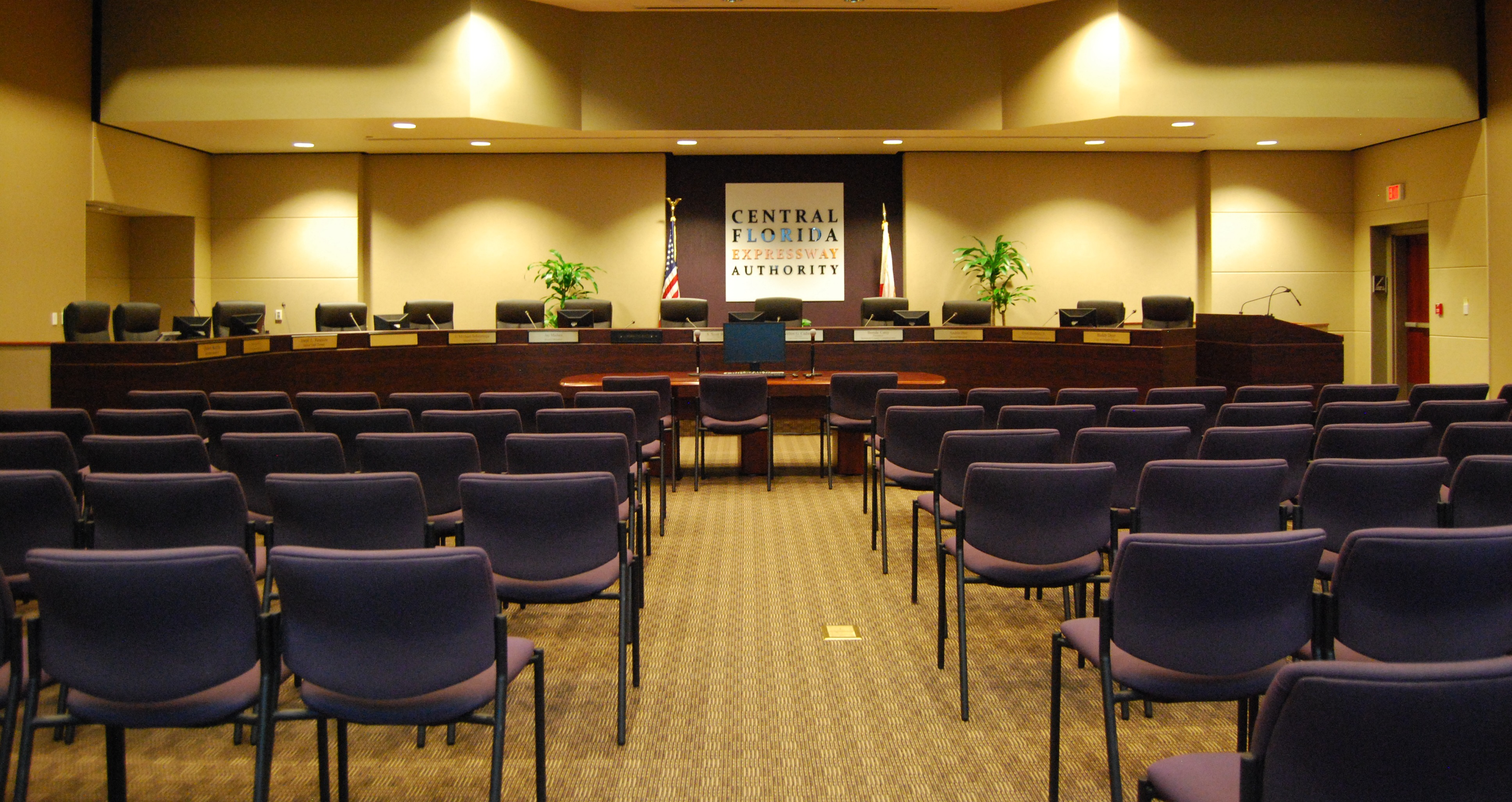 Central Florida Expressway Authority Board Room