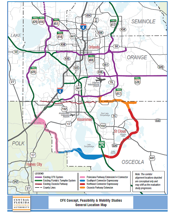 Concept, Feasibility & Mobility Studies | Central Florida Expressway ...