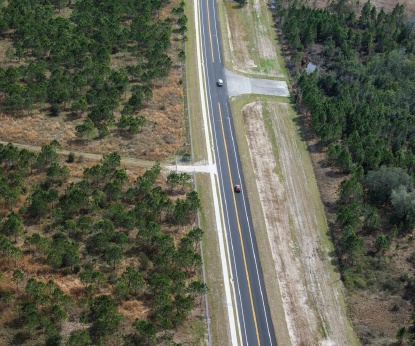 Ariel view of Poinciana Parkway