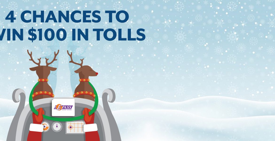 4 chances to win $100 in tolls