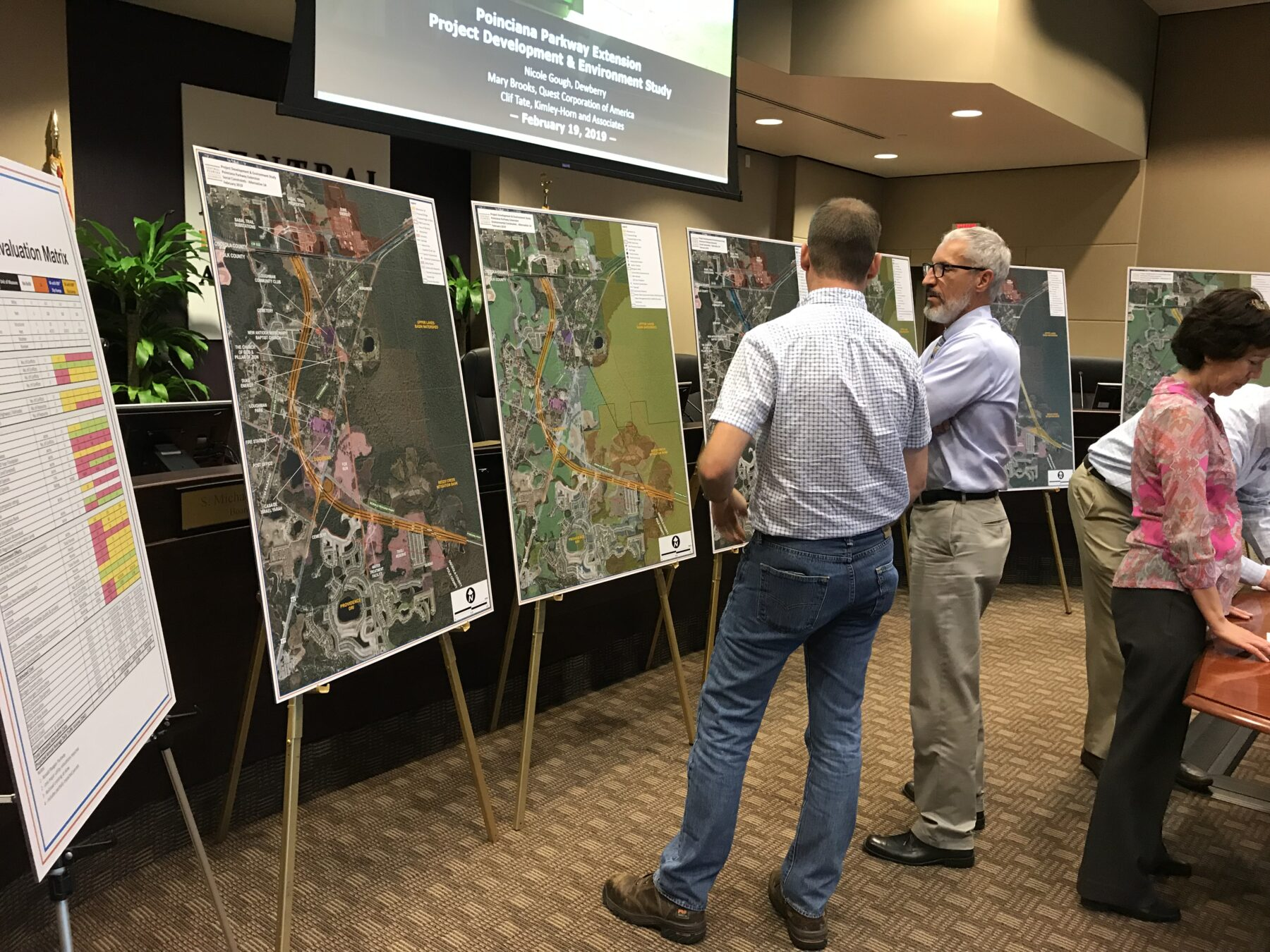 Poinciana Parkway Extension PAG #1 Meeting August 15, 2018