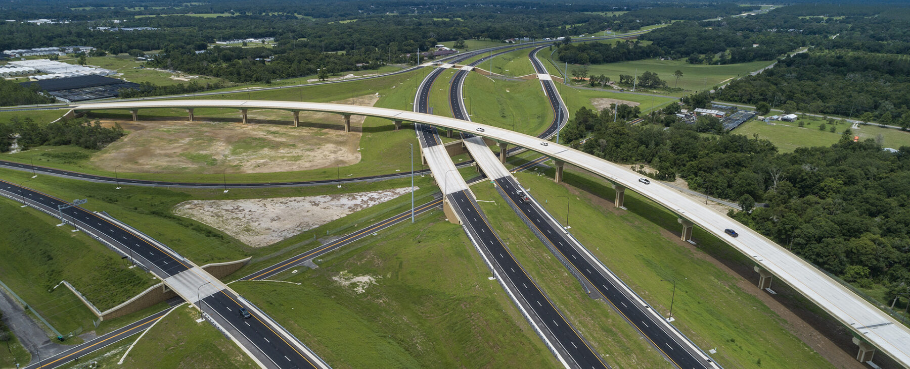 Ariel view of Central Florida Wekiva Expressway