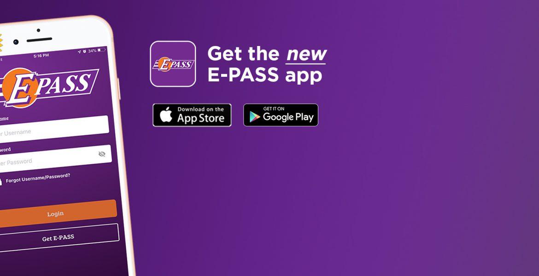Get the new E-PASS app