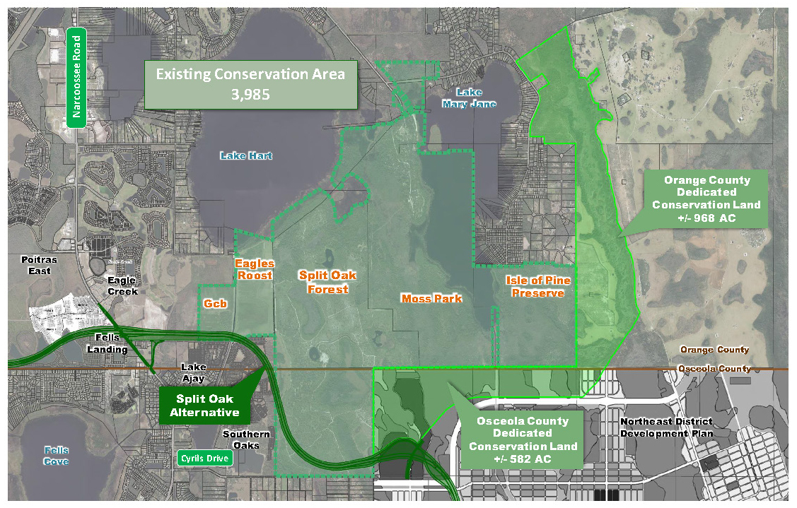Osceola County Proposed Donated Land