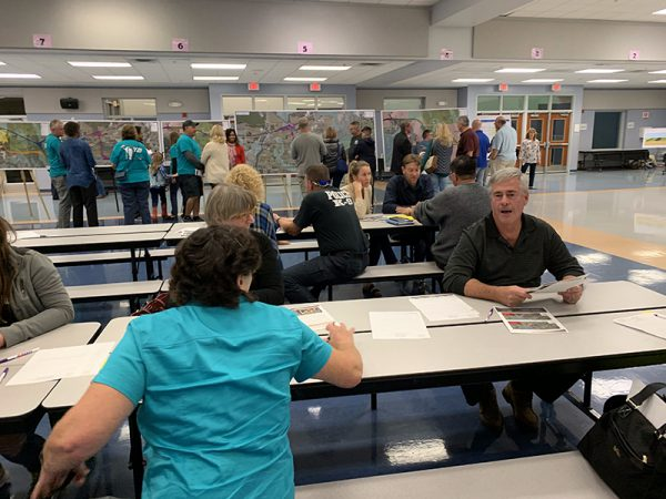 Citizens discuss Osceola Parkway Extension at Public Meeting