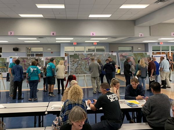 Citizens attend Osceola Parkway Extension Public Meeting