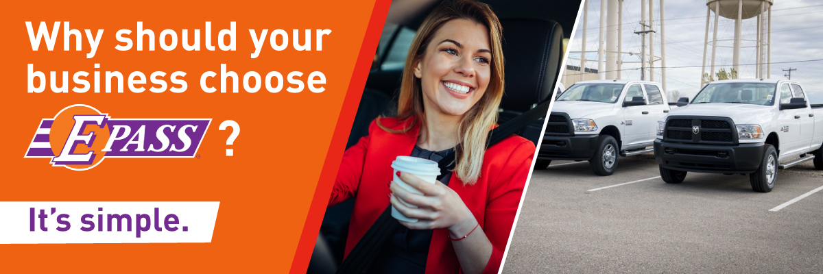 Why should your business choose E-PASS? It's simple.
